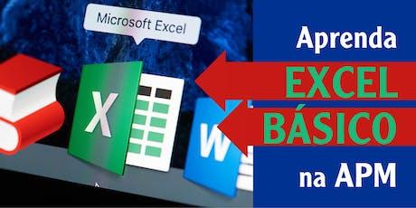 Curso de informática – Microsoft Excel Básico ingressos