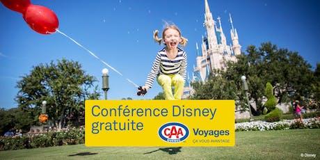 Conférence Voyages CAA-Québec à Terrebonne tickets