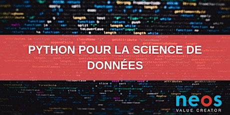 Python pour la science de données billets