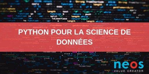 Python pour la science de données