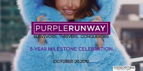Purple Runway 5th Anniversary! tickets