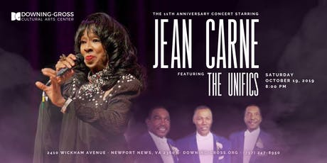 Jean Carne LIVE with the Unifics - 11th Anniversary Concert tickets