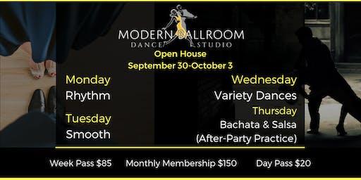Open House @ Modern Ballroom
