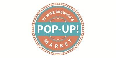 Hi-Wire Brewing's Pop - Up Market