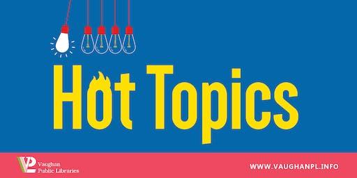 Hot Topics: The Anthropocene