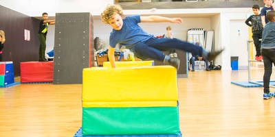 LONDON PARKOUR PROJECT - WEDNESDAY YOUTH PARKOUR 5:30 - 6:30 pm (HACKNEY)