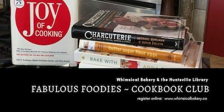 Fabulous Foodies, Cookbook Club tickets