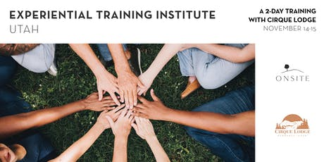 2 Day Experiential Training in Utah tickets