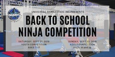 Back to School Ninja Warrior Competition
