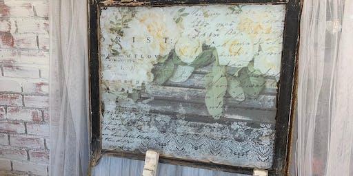 Antique Window/Transfer Workshop