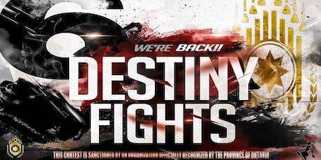Destiny 6 Live Amateur Muay Thai tickets
