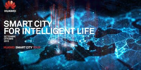Huawei Smart City Tour biglietti