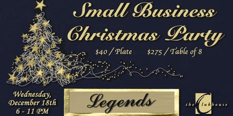 Small Business Christmas Dinner tickets