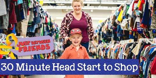 JBF Harrisburg/Hershey 30 Minute Head Start Pass Fall 2019