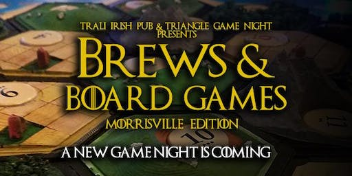 Brews & Board Games (Morrisville Edition) Official Launch Party!
