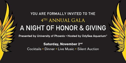 A Night of Honor and Giving | 4th Annual Wings For Warriors Gala
