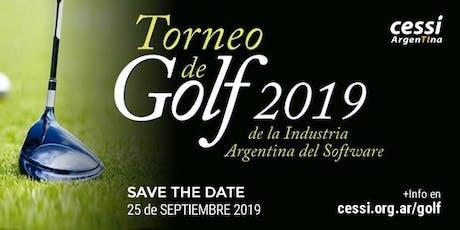 4° Torneo de Golf de la Industria Argentina de Software (Invitados) entradas