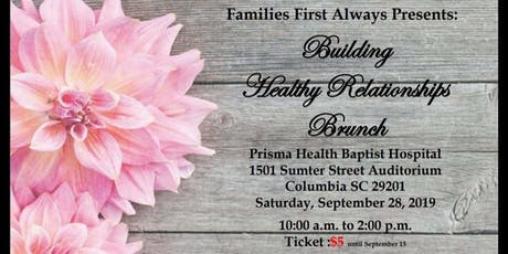 Building Healthy Relationships Brunch tickets