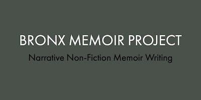 Bronx Memoir Project – Narrative Non-Fiction Workshops Series