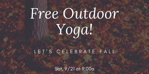 Free Outdoor Yoga!