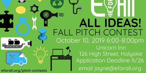 Spark EforAll Holyoke Fall All Ideas Pitch Contest