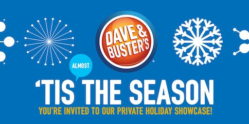 2019 Dave and Busters Franklin Mills Holiday Showcase