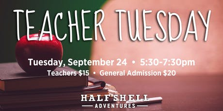 Teacher Tuesday tickets