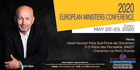 Conférence Manne des Ministres Européens 2020 Mai billets