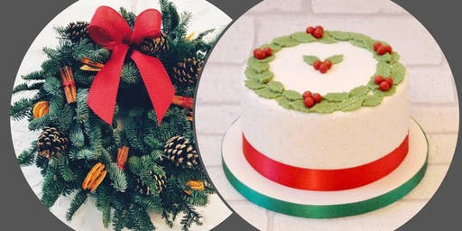 Christmas Cake and Wreath Workshop