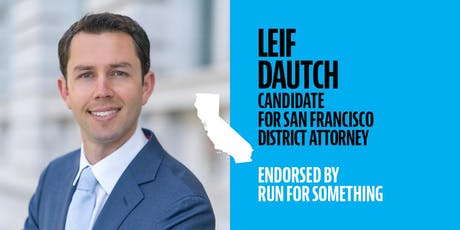 Policy Pitch Night with DA Candidate Leif Dautch tickets