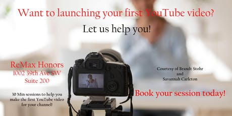 Make your first YouTube video! tickets