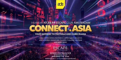 Connect.Asia - ADE 2019 tickets