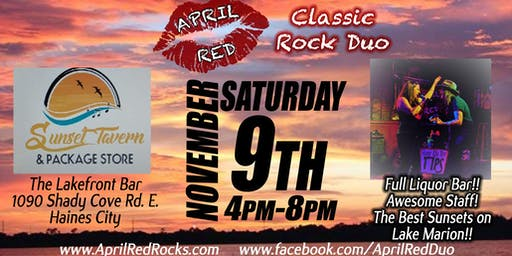 April Red is Back at The Lakefront Bar in Haines City!