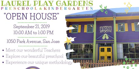 OPEN HOUSE - PRESCHOOL & KINDERGARTEN tickets