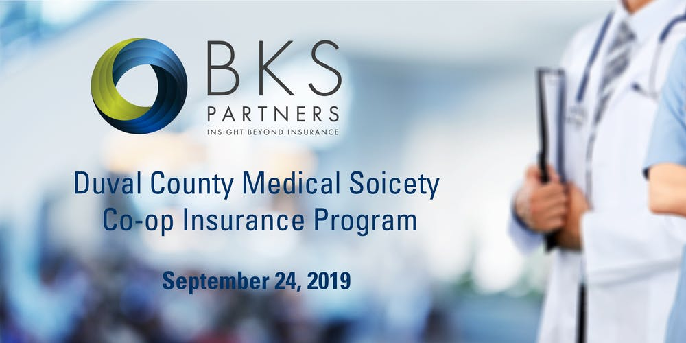 Duval County Medical Society Co-Op Dinner Tickets, Tue, Sep