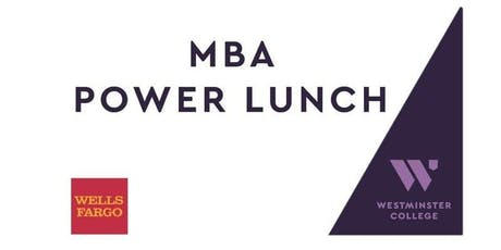 MBA Power Lunch with Ron Jibson tickets