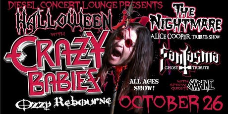 Crazy Babies - The Ultimate Tribute To Ozzy Osbourne tickets