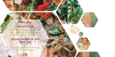 Fall Floral Design Class tickets