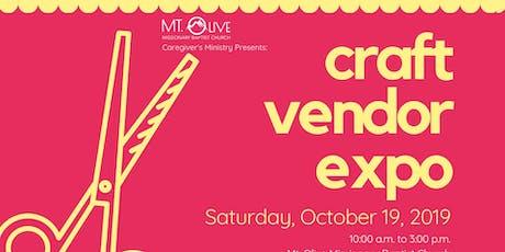 Craft Vendor Expo 2019 tickets