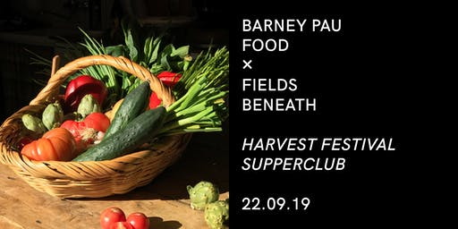 Harvest Festival Supper Club