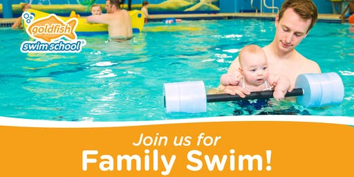 October 26  Saturday Family Swim | $5/child or $15/ family