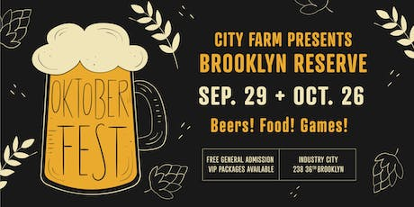 Brooklyn Reserve: Oktoberfest tickets