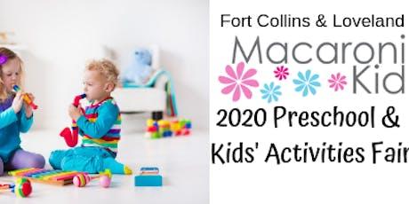 2020 Macaroni Kid Preschool & Kids Activities Fair  tickets