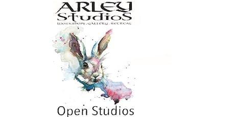 Arley Open Studios with art course enrolment  tickets
