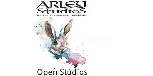 Arley Open Studios with art course enrolment