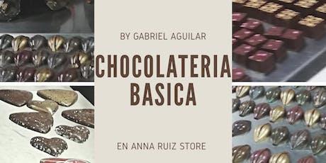 Chocolatería Básica con el Chef Gabriel Aguilar en Anna Ruíz Store entradas