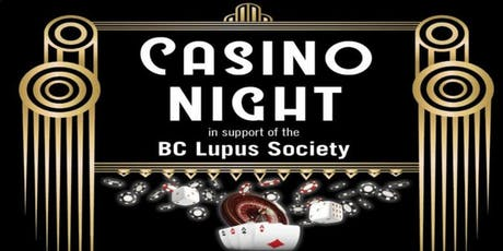 BC Lupus Society - Casino Night tickets