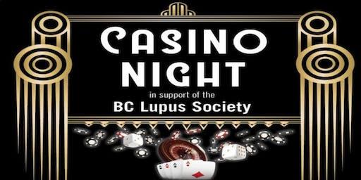 BC Lupus Society - Casino Night
