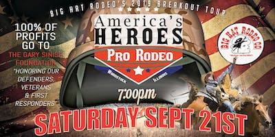 America's Heroes Pro Rodeo (Saturday)
