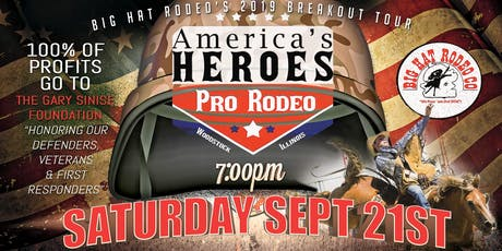 America's Heroes Pro Rodeo (Saturday) tickets